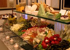 035 a typical endive cheese display presented with anti pasto in a
