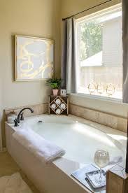 how organize the master bathroom style polished habitat glam farmhouse master bathroom