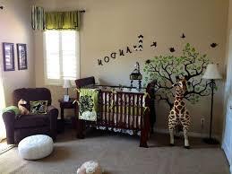 Simple Nursery Decor Baby Nursery Bedroom Jungle Safari For Ba Nursery Decor With