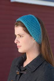 tie headbands knitting patterns galore toboggan tie headband