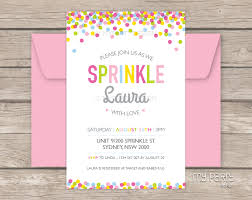 baby sprinkle baby sprinkle party printable baby shower invitation my party design