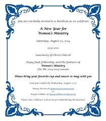 invitation letter for guest speaker for church anniversary church