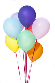 party balloons image of bunch of colorful floating party balloons freebie