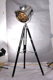 retro tripod floor lamp and studio picture design iron with chrome