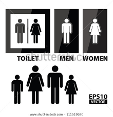 Mens And Womens Bathroom Signs Toilet Sign Stock Images Royalty Free Images U0026 Vectors Shutterstock