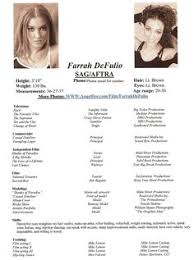 Acting Resume For Beginners Acting Resume Template Sample Http Topresume Info Acting