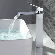 design waschtischarmaturen design wasserfall wasserbecken mischbatterie waschtisch hoch