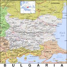 Map Of Bulgaria Bg Bulgaria Public Domain Maps By Pat The Free Open Source