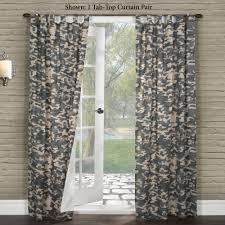 Camouflage Home Decor Decor Room Darkening Curtains For Elegant Interior Home