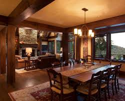 rich home interiors rich cabin home interior family room dining inspirational future