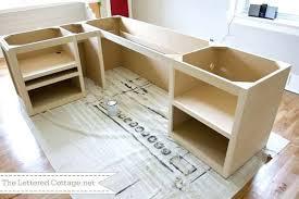 Diy Wood Desk Plans Diy Office Desk Plans Copan Me
