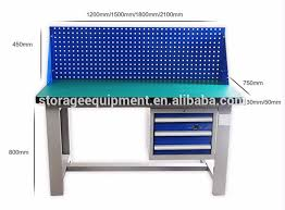 warehouse mechanical work bench view mechanical work bench top