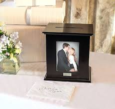 wedding gift card holder photo box wedding card holder black diy picture frame wedding card