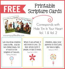 Bible Study Invitation Cards Hide U0027em In Your Heart Scripture Cards Free Printable Scripture