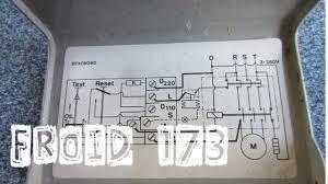 principe de fonctionnement d une chambre froide froid173 schéma électrique de câblage du pressostat différentiel d