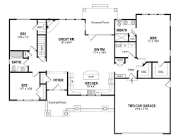 ranch house floor plans with basement ranch house plans with basement stunning i like the foyer top