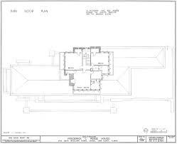 frank lloyd wright robie house floor plans