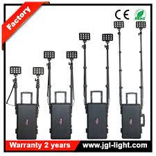 temporary job site lighting high power 72w battery operated led portable flood work light job