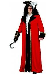Xxxl Halloween Costume Captain Hook Pirate Size Costume Size 56 58 Large