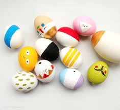 egg decorations easter eggs mix match sculptures mr printables