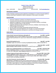 sample resume for oracle pl sql developer cv writing lesson critical thinking for young learners