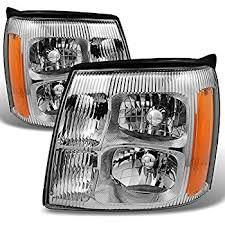 cadillac escalade headlights amazon com 02 2002 cadillac escalade base or ext models 8cyl 6 0
