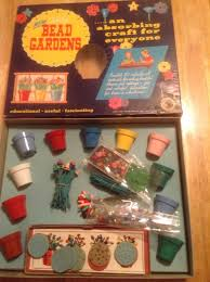 vintage walco bead garden craft kit 1959 craft kits craft and beads