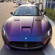 purple maserati maserati granturismo in satin black 1600 x 1066 the best