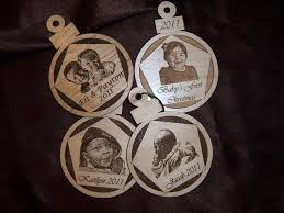 10 best personalized ornaments photo engraved images on