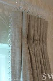 Pinch Pleated Drapes Traverse Rod 162 Best Drapery Pleats Images On Pinterest Curtains Window
