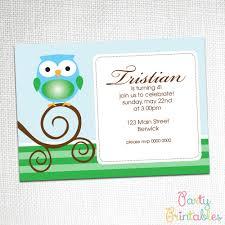 8 marvelous free printable owl party invitations neabux com