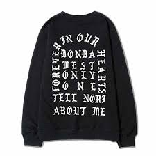 yeezus sweater kanye donda sweatshirt fear of god yeezus sweatshirtxy com