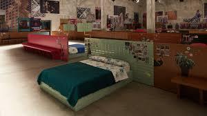 prada u0027s fall 2017 bedroom set step inside vogue