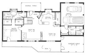 ranch with walkout basement floor plans sensational design ranch floor plans with basement walkout plan