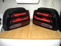96 98 mustang tail lights mustang 1994 1995 export taillight installation