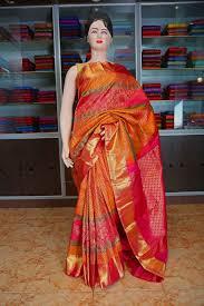 rani pink colour 1 mustard and rani pink multi colour bridal silk saree
