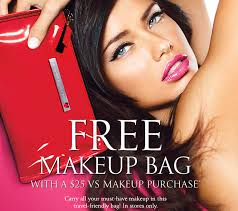 victoria 39 s secret the perfect makeup bag free with 25 makeup purchase