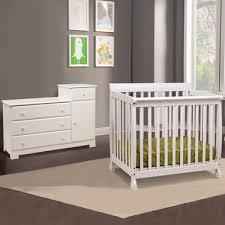 Kalani Mini Crib White Da Vinci 2 Nursery Set Kalani Mini Crib And Combo Changer