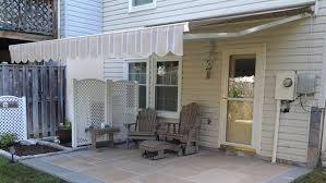 How To Install A Retractable Awning Patio Covers U0026 Awnings Zephyr Thomas