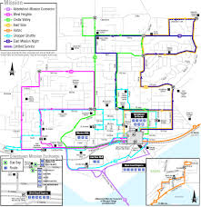 Truck Route Maps Mission Public Transit Schedules And Maps