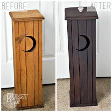 toilet paper holder wood refinishing a wood toilet paper holder with custom stain pertaining