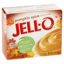 jell o instant pudding u0026 pie filling pumpkin spice 3 4 oz