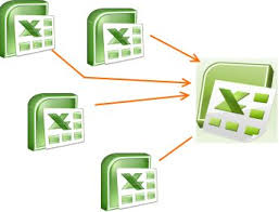 how to merge combine multiple excel files into one