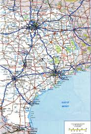Map Of Us States And Cities by Texas Highway Map Black
