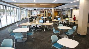 Unl Interior Design Learning Commons Offers New Study Collaboration Space Nebraska