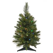 shop vickerman 2 ft pre lit artificial tree with 30