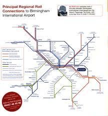 London Airports Map Airport Train Rail Links