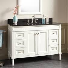 Bathroom Vanity Cabinet White  Impressive Jgectcom - 48 white bathroom vanity cabinet