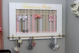 hair bow holder hair bow holder hair bow organizer headband holder baby girl gift