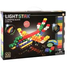 light stax power base light stax classic building set 102 pc blocks and bricks
